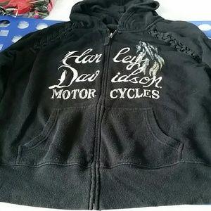Harley-Davidson wings hoodie